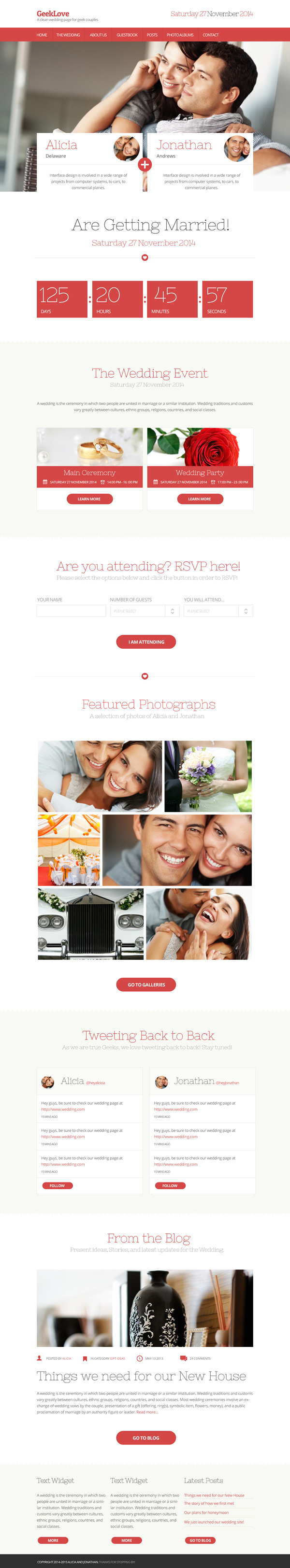 GeekLove WordPress Theme