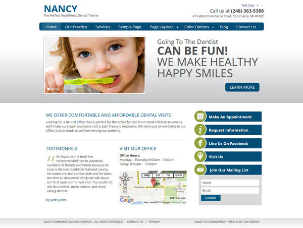 Nancy Medical Theme