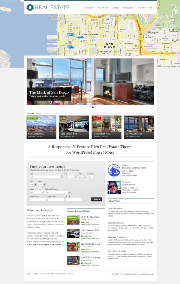 WP Real Estate Themes Review
