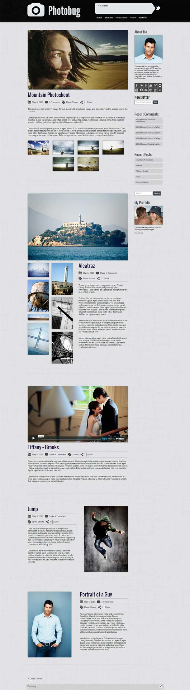 Photobug Video Theme Image