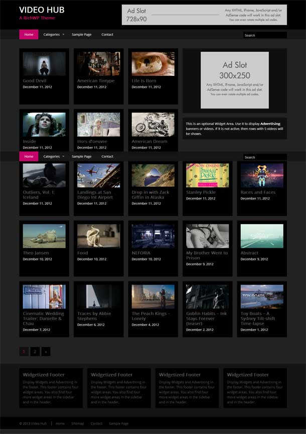 Video Hub Video Theme Image