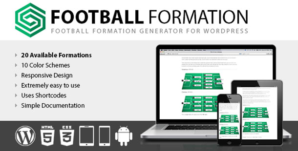 Football Formation plugin