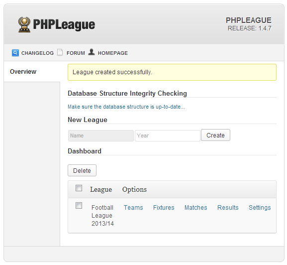 sports-php-league