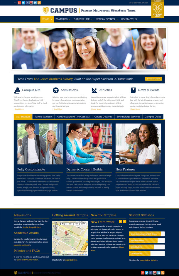 Campus Education Theme Image