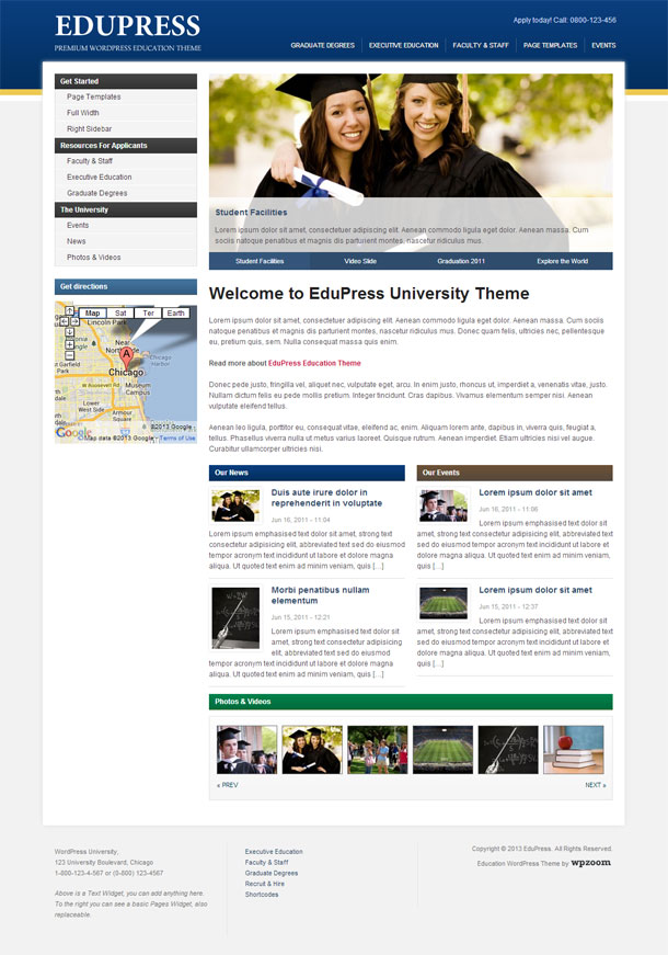EduPress Education Theme Image