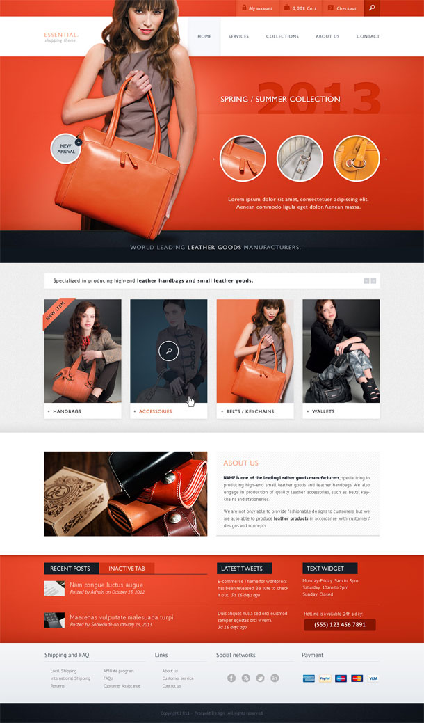Essential ECommerce Theme Image