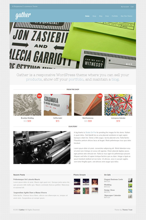 Gather ECommerce Theme Image