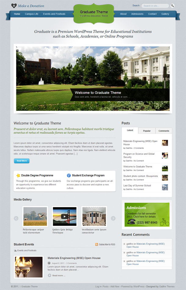 Graduate Education Theme Image