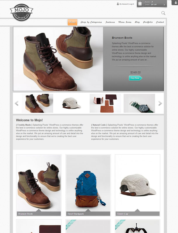 MojoECommerce Theme Image