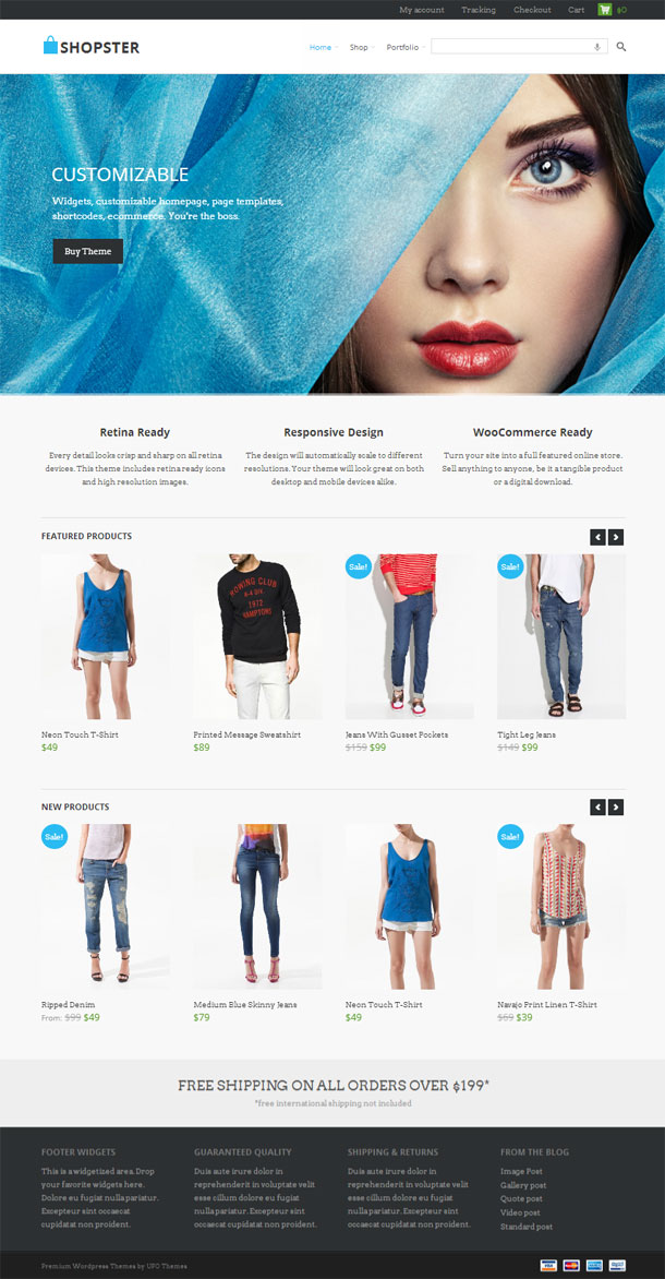 Shopster ECommerce Theme Image