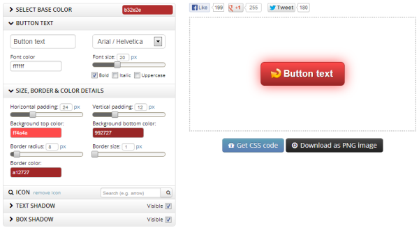 CTA Button Generator