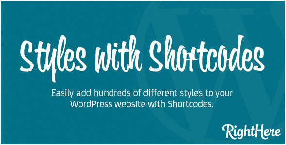 CTA Styles with Shortcodes