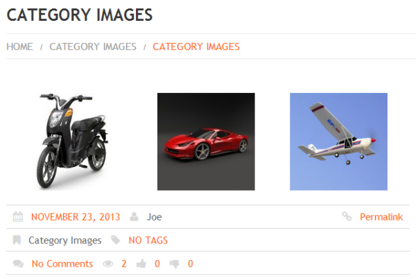 Categories Featured Image