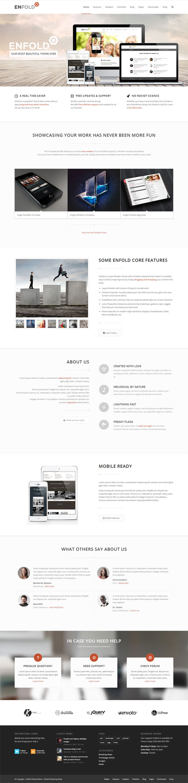 Enfold Best Responsive Theme Image