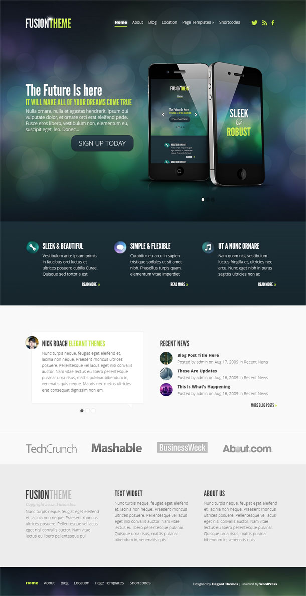 Fusion Best Responsive Theme Image