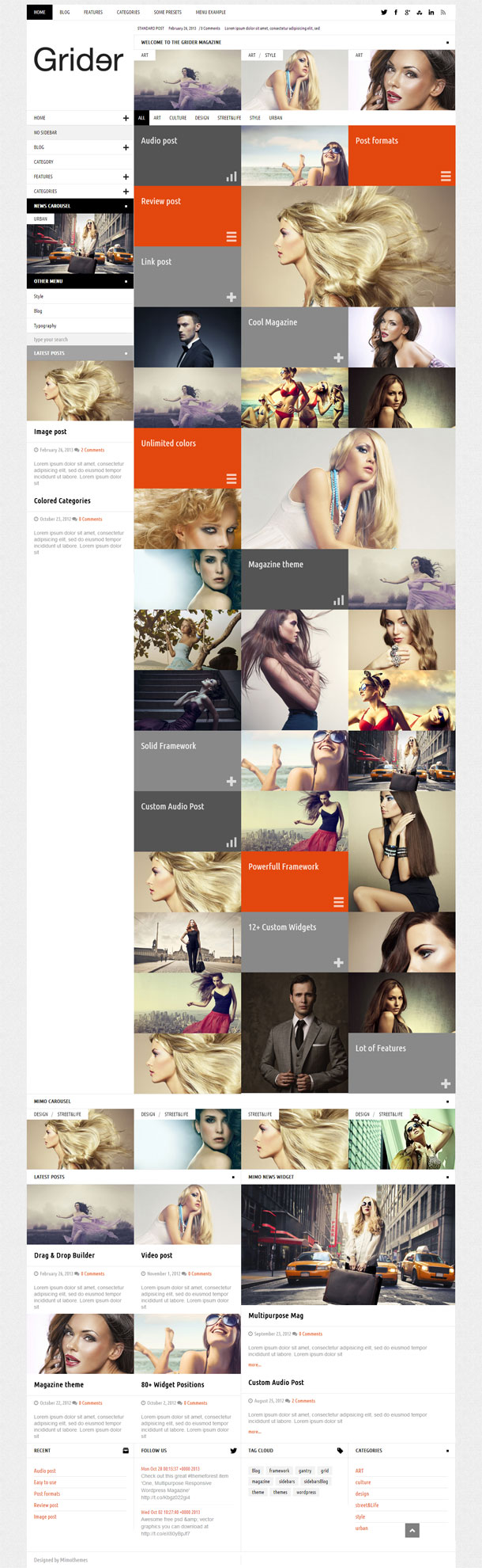 Grider Best Responsive Theme Image