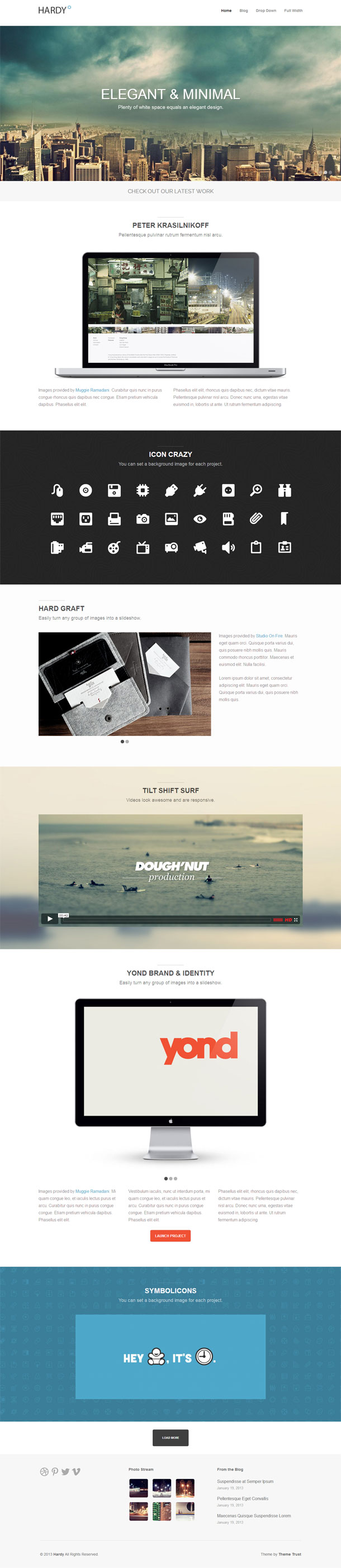 Hardy Best Responsive Theme Image