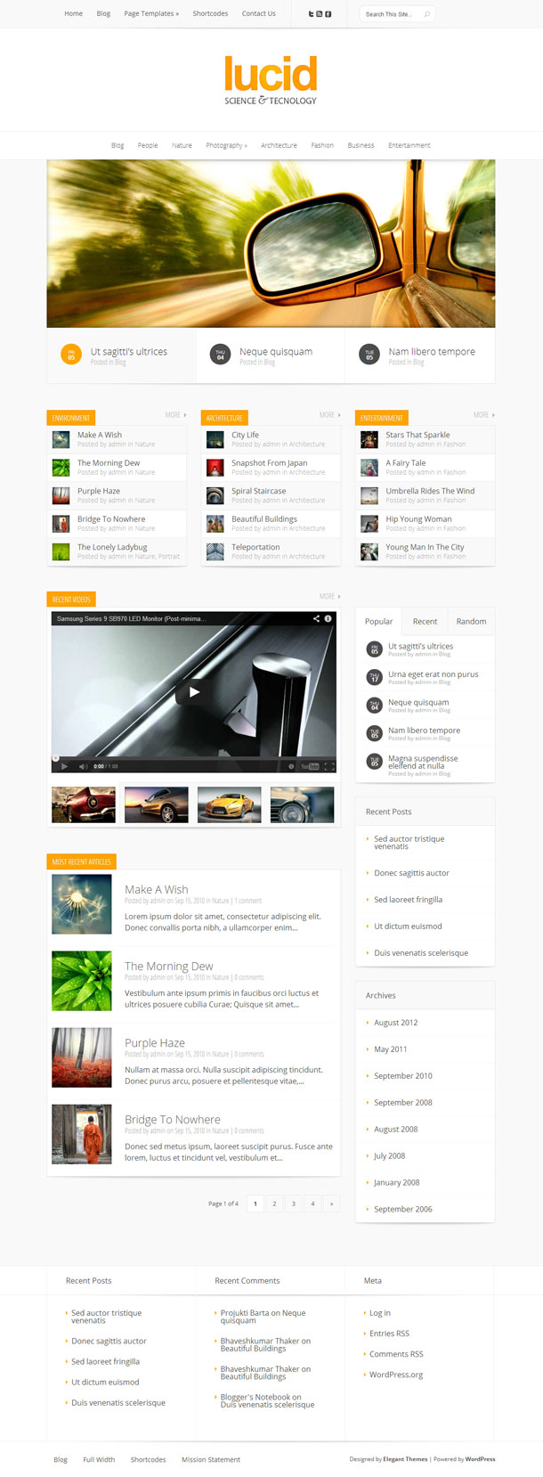 Lucid Best Responsive Theme Image