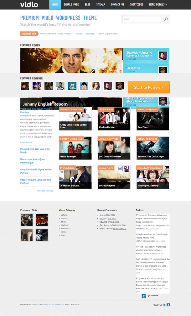 Vidio Video Theme Image