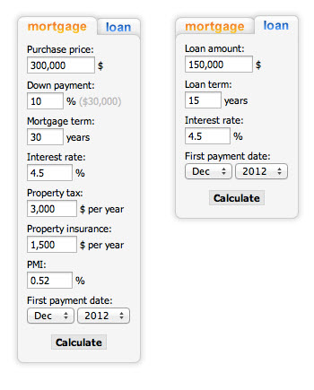 Real estate plugins build a property listings website for Build my home calculator