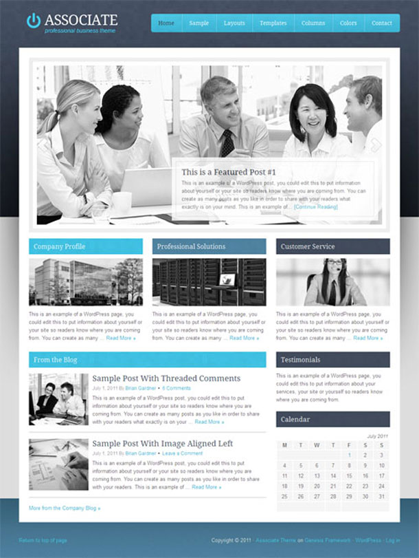 Associate Lawyers & Law Firms Theme Image