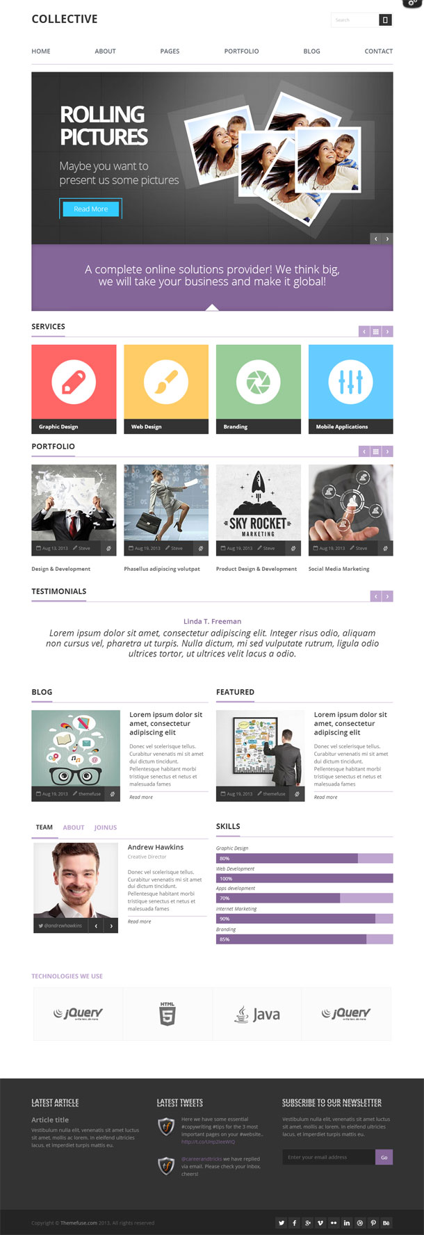 Collective Business Theme Image