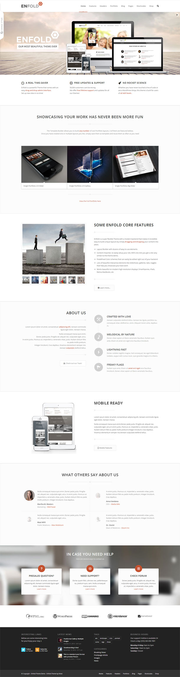 Enfold Great WordPress Theme for 2014 image