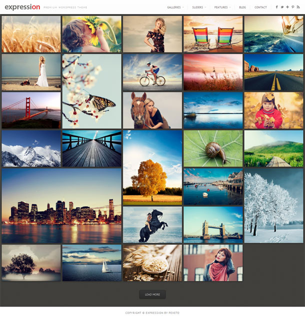 Expression Grid Theme Image