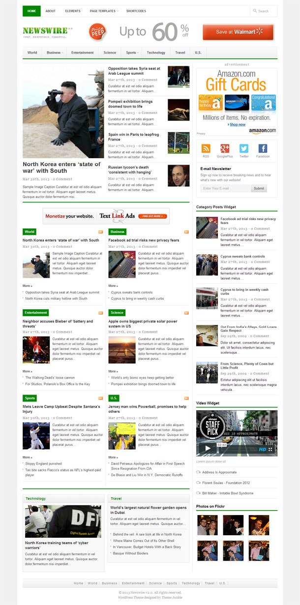 Newswire News Theme Image