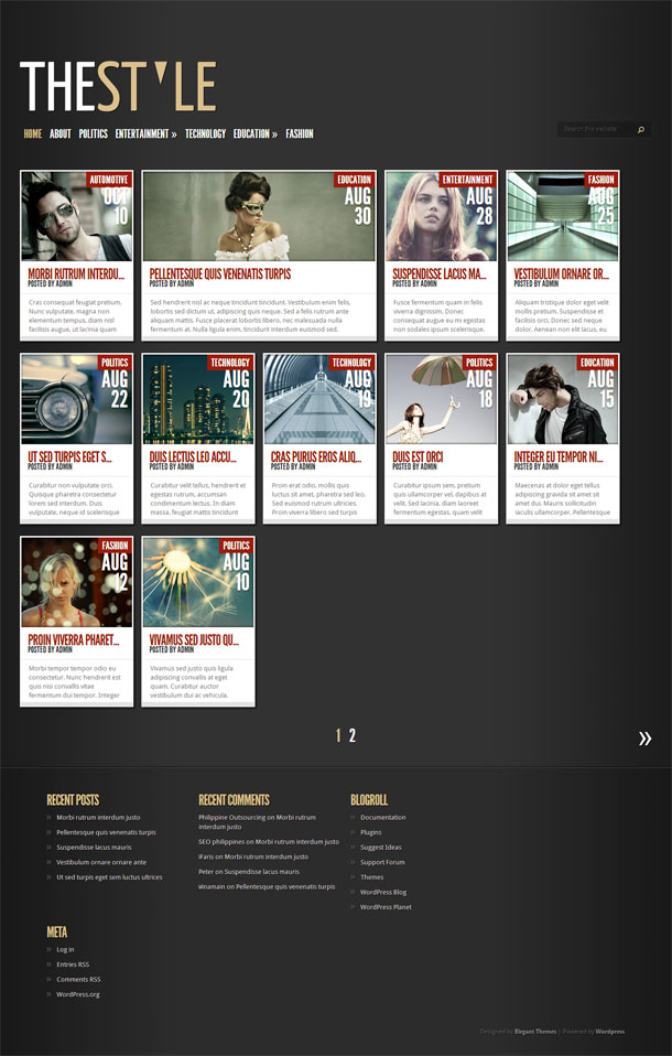 TheStyle Grid Theme Image