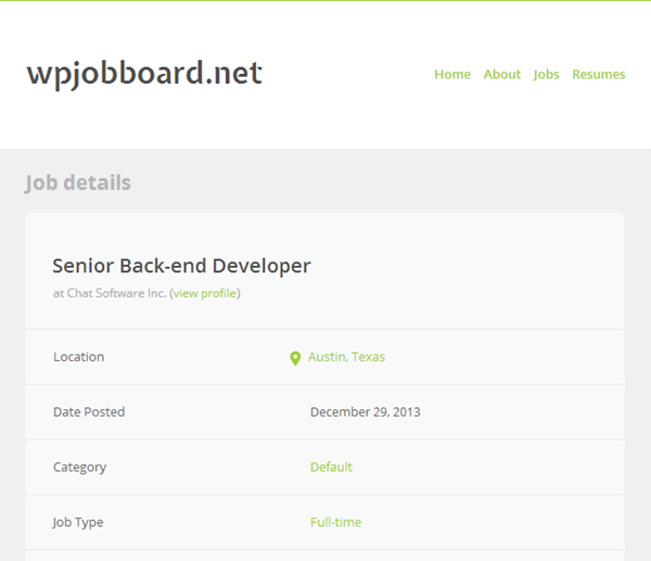 Job Boards WPJB 02