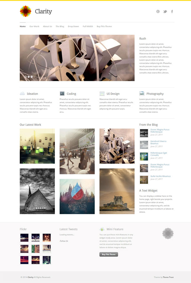 Clarity Best WP Construction Company Theme Image
