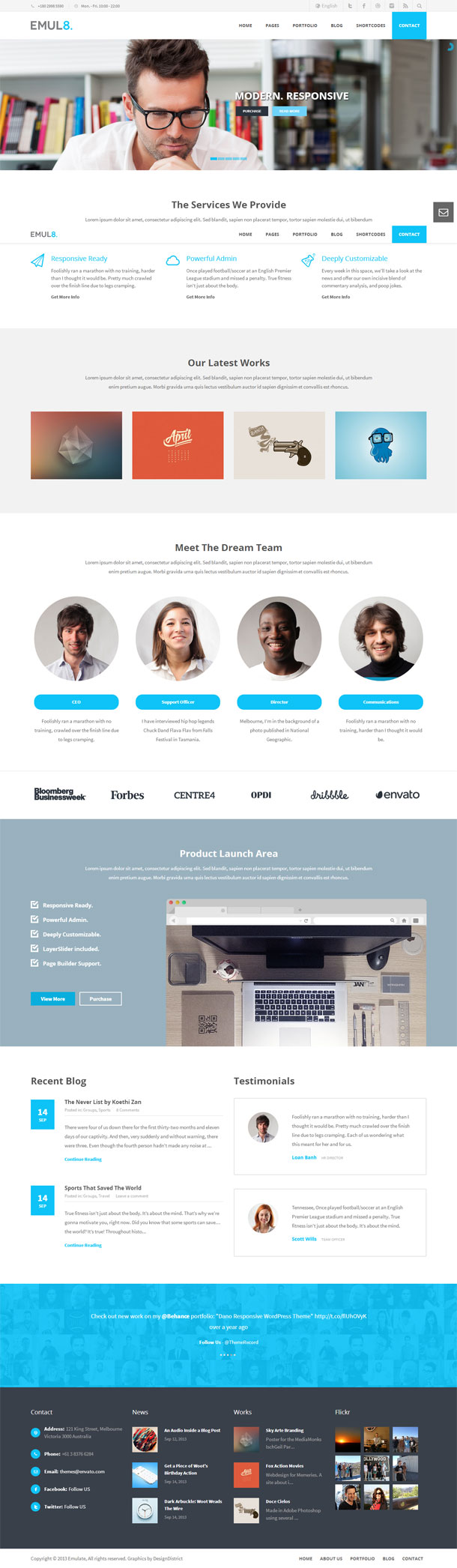 Emulate Best WP Construction Company Theme Image