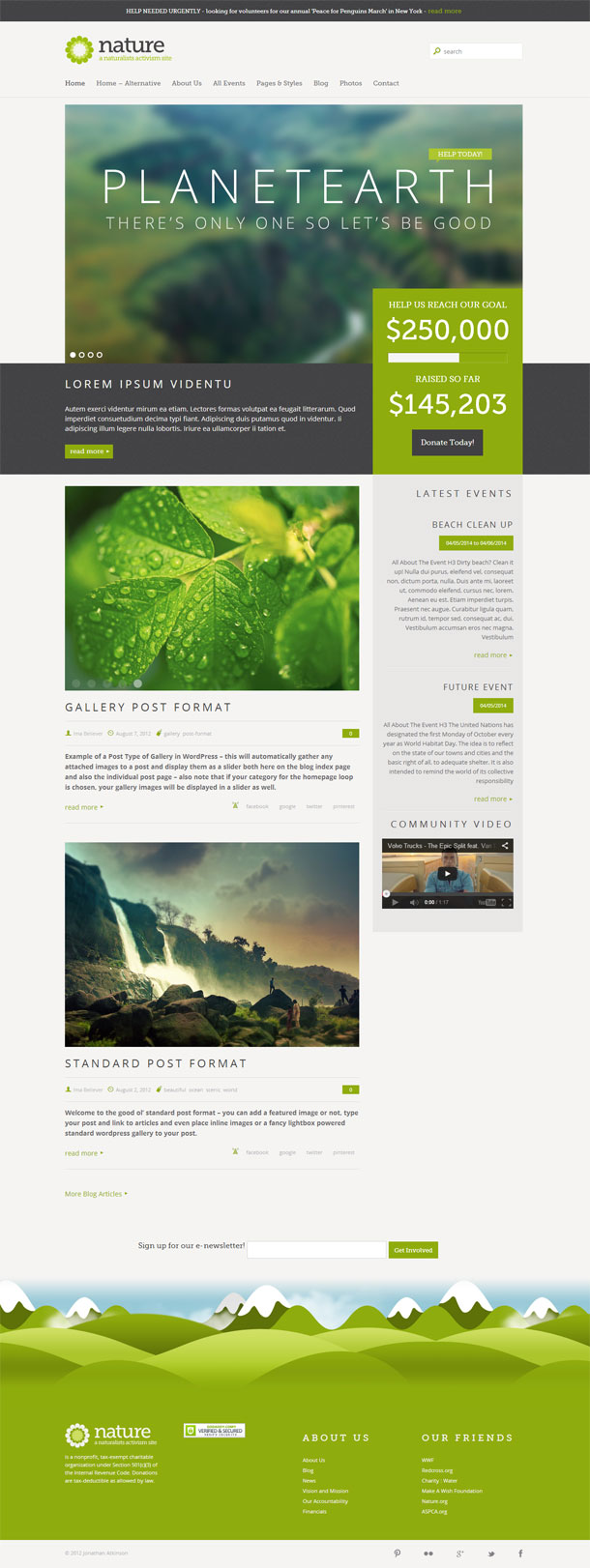 Nature Green Theme Image
