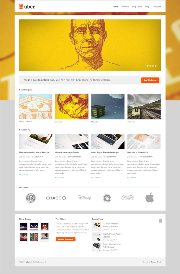 Uber Best WP Construction Company Theme Image