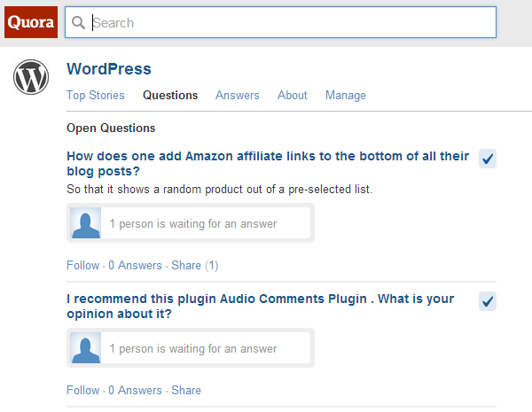 WordPress Answers Quora