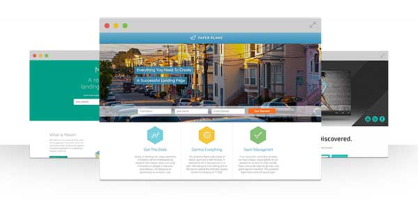 Velocity Page included layouts