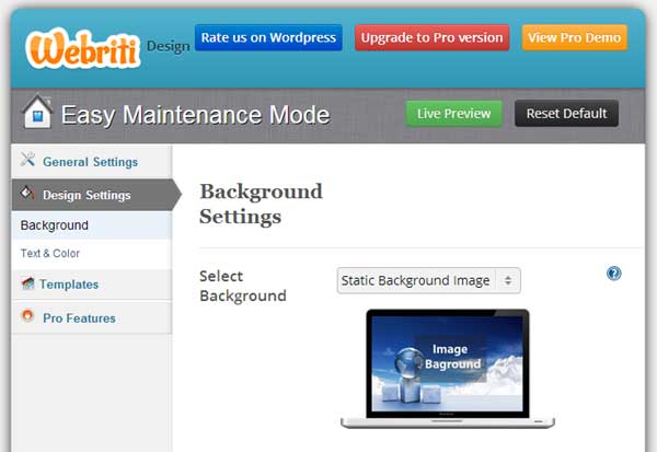 Coming Soon Easy Maintenance Mode UI
