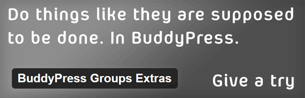BuddyPress Groups Extra