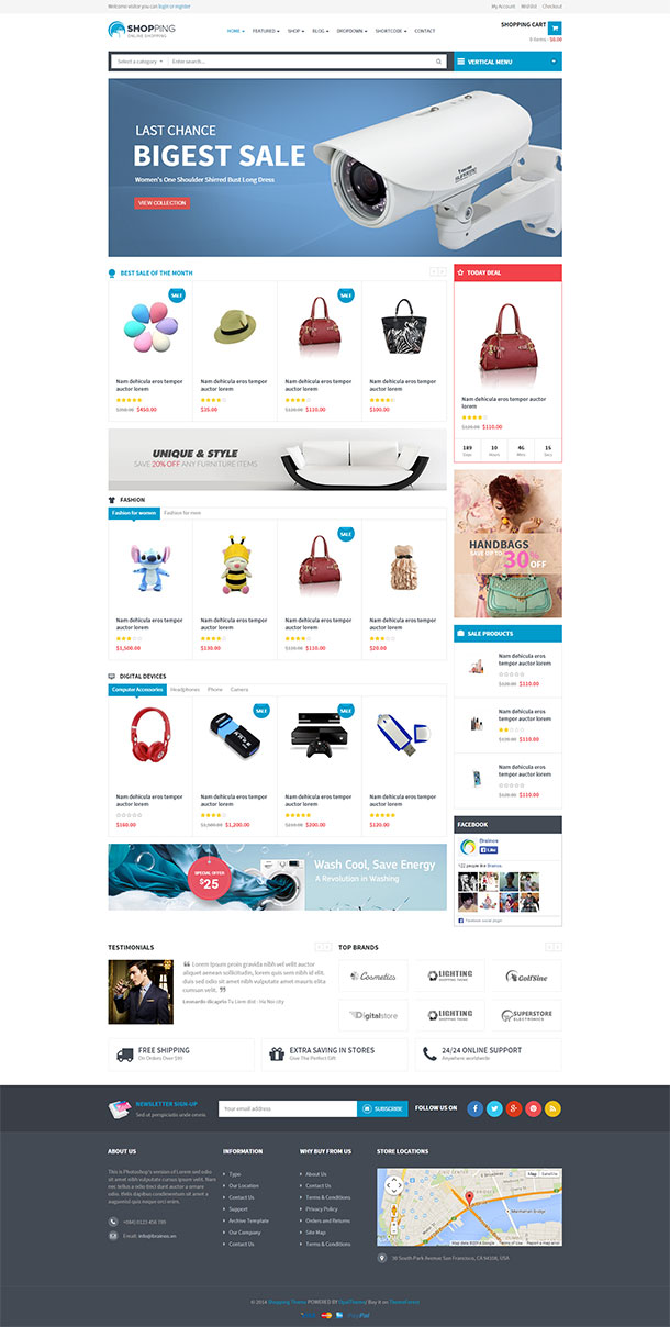 Shopping Theme Image
