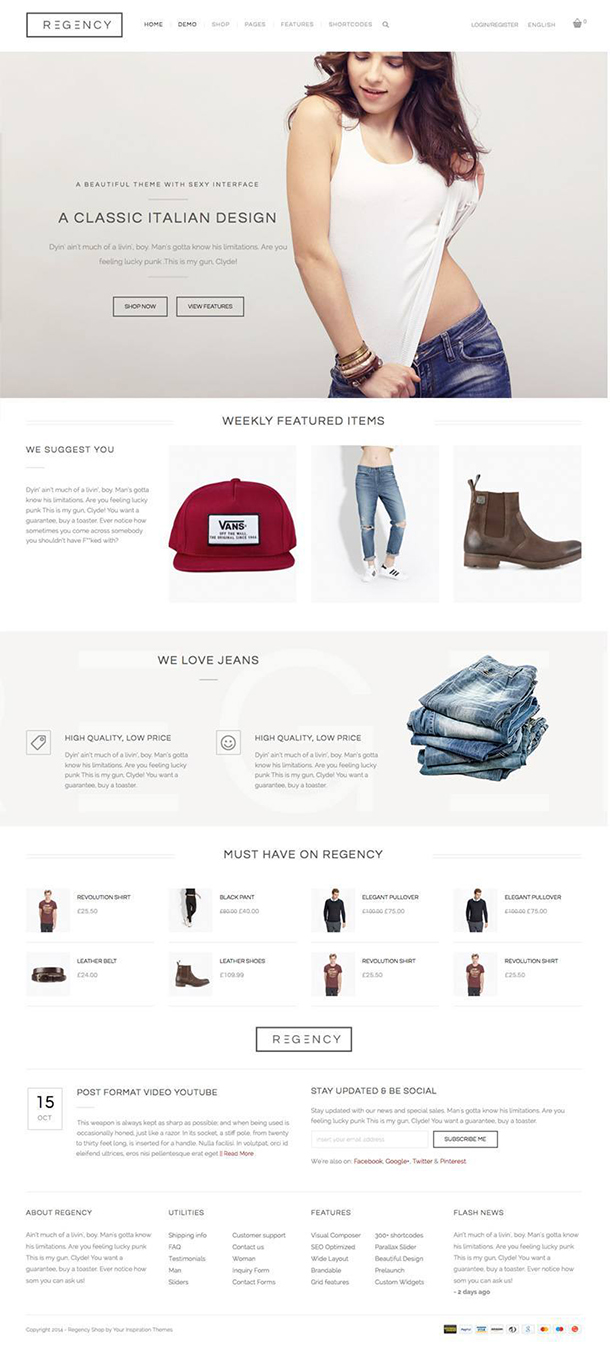 Regency WP WooCommerce Theme Image