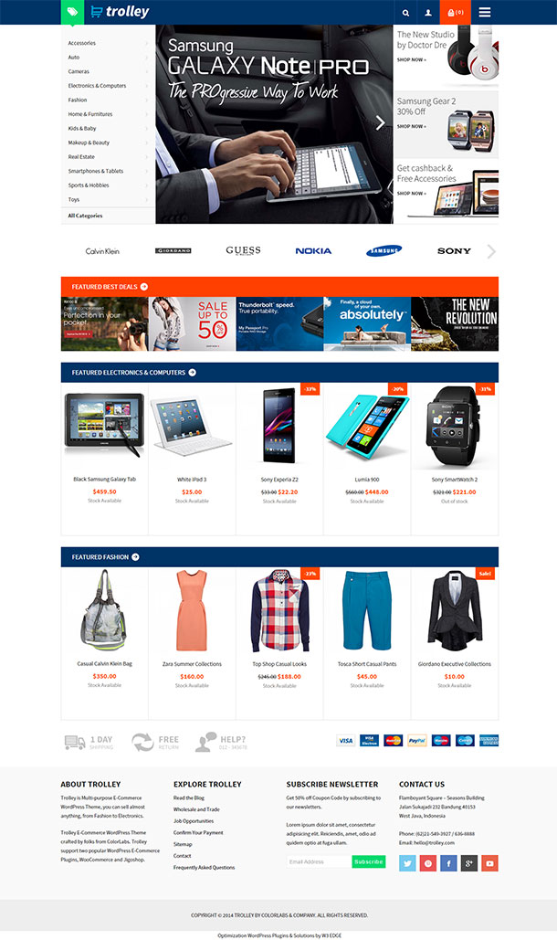 Trolley WooCommerce Theme