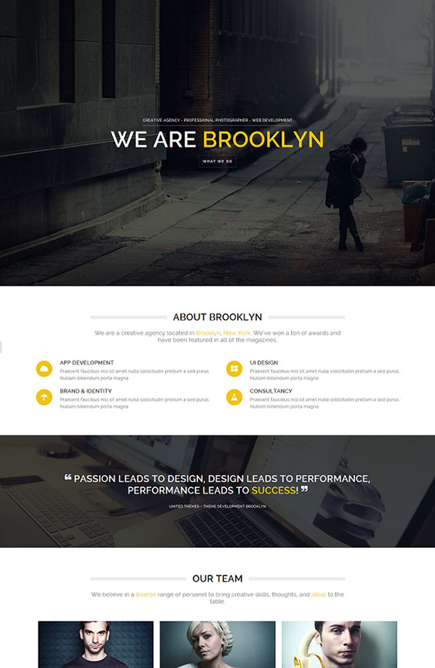 Brooklyn Theme Image