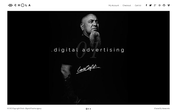 Chola - Agency Portfolio Theme