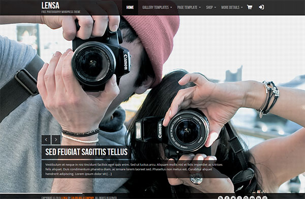 Lensa Photographer Theme