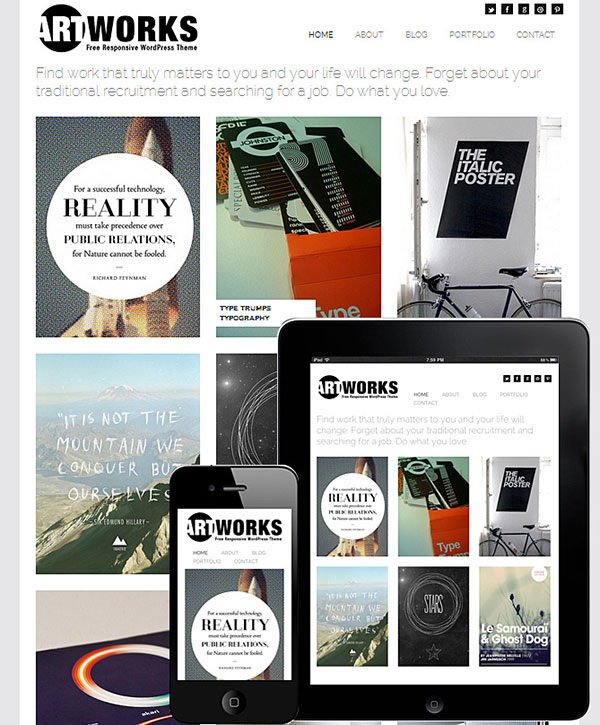 Art Works WordPress Theme