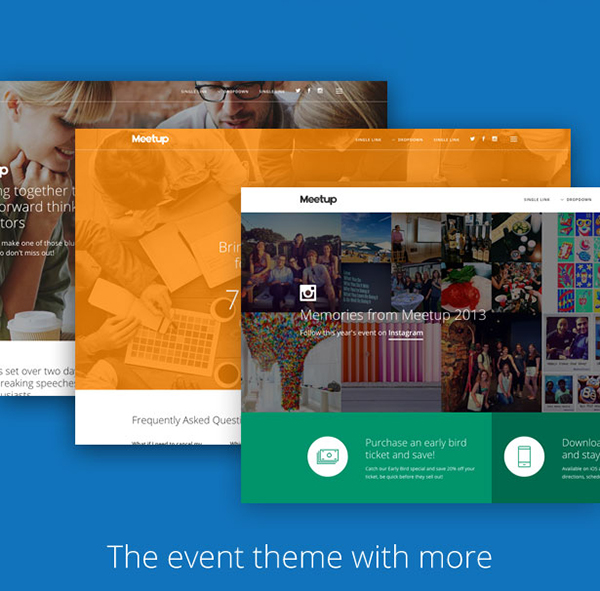 Meetup Event Conference Theme