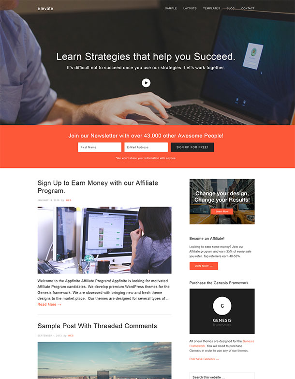 ElevatePro WordPress Theme