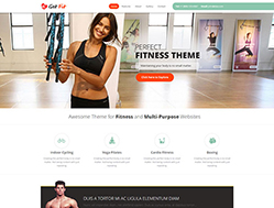 Fitness WP Theme