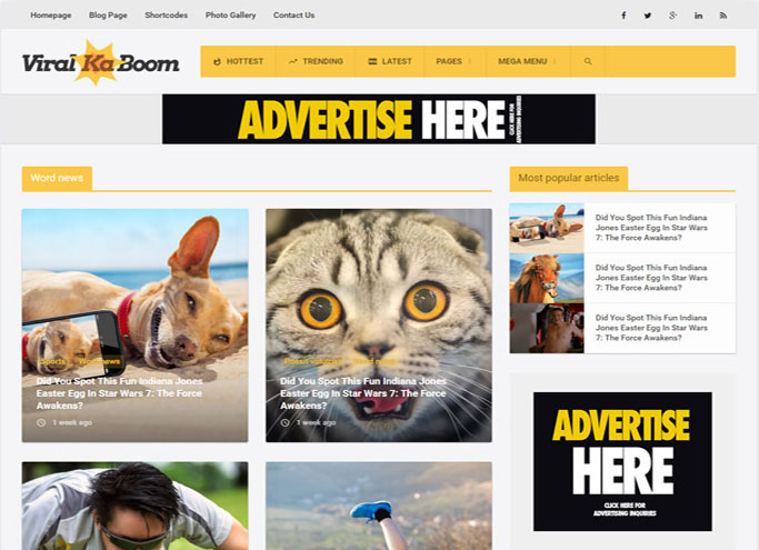 top 10 google adsense wordpress themes 2016